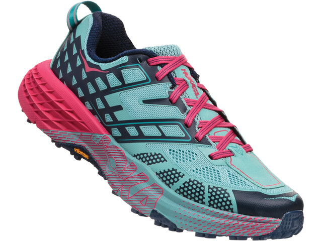 Hoka One One Speedgoat 2 Running Shoes Damen canton/dress blues
